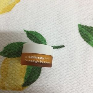 Ole Hendrickson banana bright eye creme